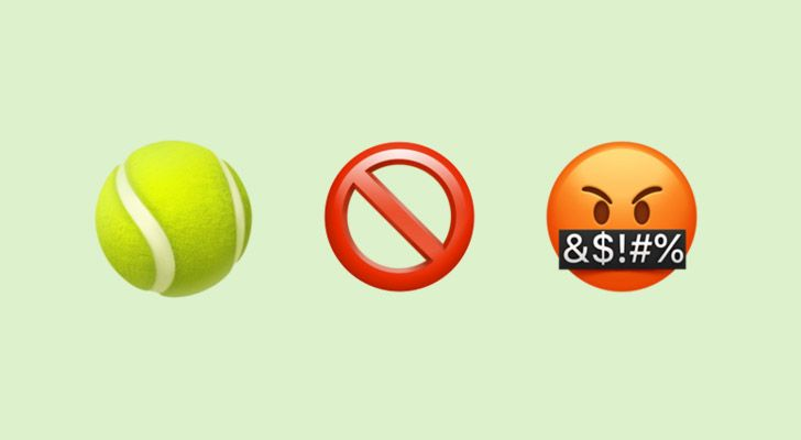 Tennis players are not allowed to swear when they are playing in Wimbledon.