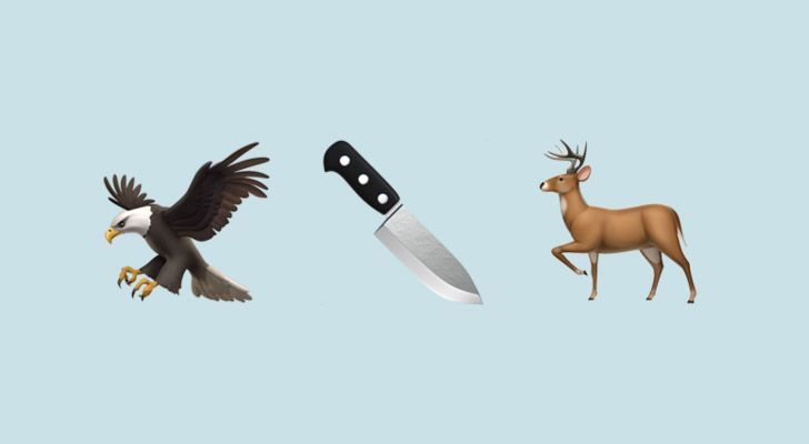 An eagle can kill a young deer and fly away with it.