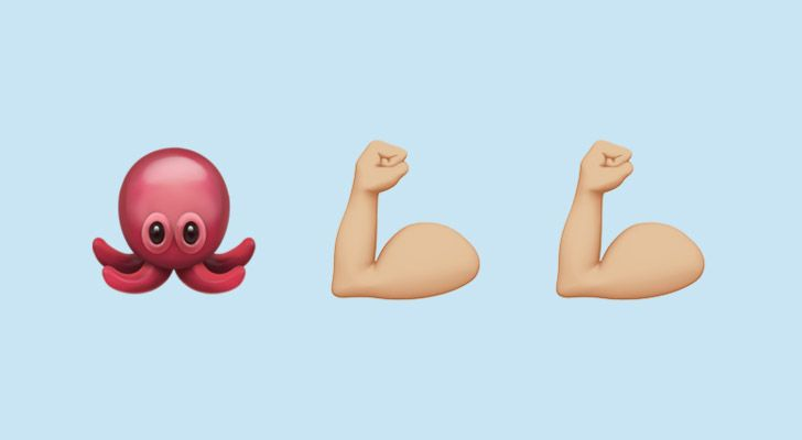 Octopuses have four pairs of arms.