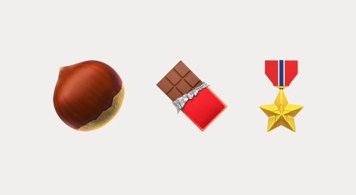 Nutella was invented during WWII, when hazelnuts were mixed into chocolate to extend chocolate rations.